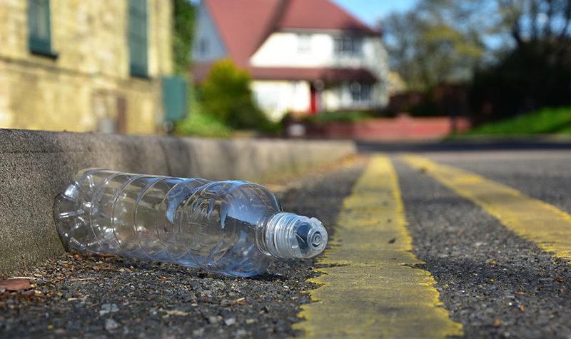 El boom de las carreteras de plástico reciclado