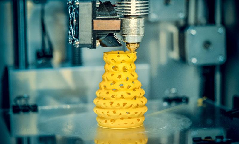 materiales plásticos en la fabricación aditiva