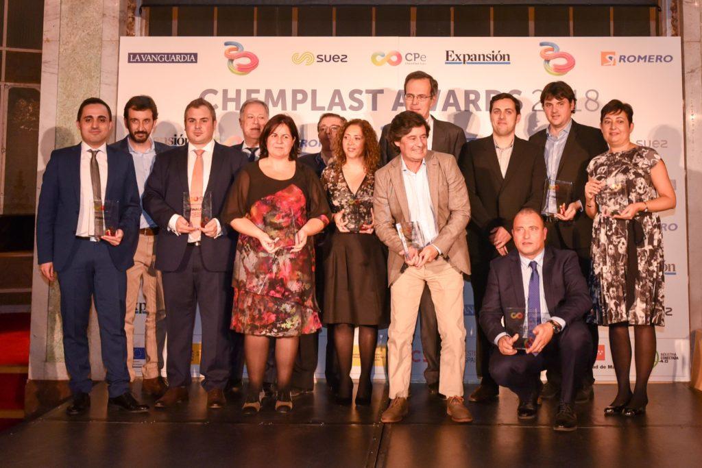Finalistas ChemPlastAwards 2018