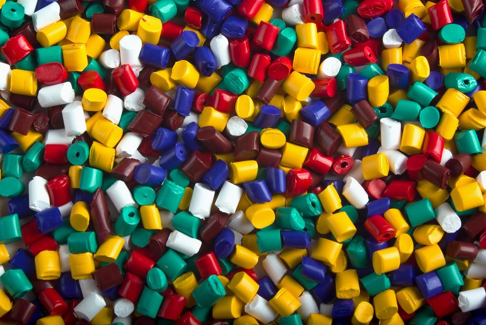 transformación del plástico